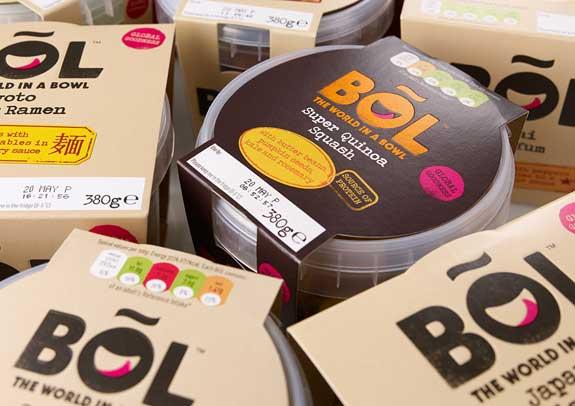 طراحی بسته بندی  و هویت برند محصولات برند BOL