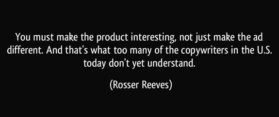 راسر ریوز ، اصولگرای غیر قابل انعطاف
