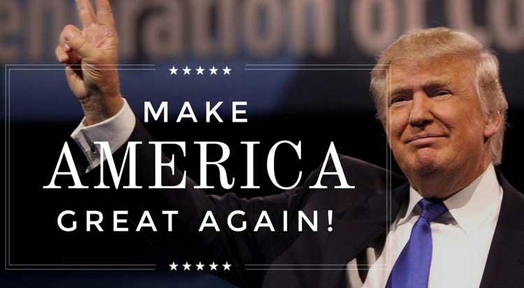 دونالد ترامپ جنجالی تنها با یک شعار و با تمرکز بر یک مساله کمپین بازاریابی اش را هدایت می کند.