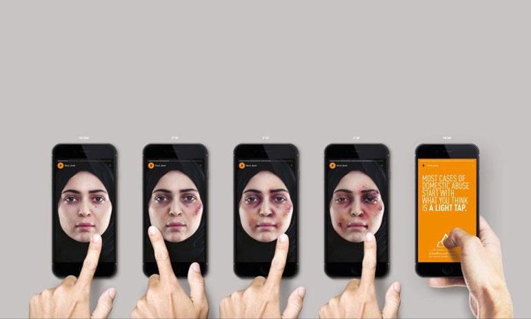 استوری اینستاگرام به کمک مبارزه با خشونت می آید