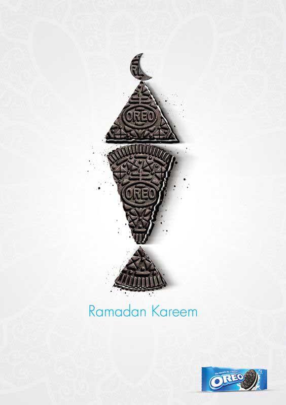 تبلیغ OREO در ماه رمضان