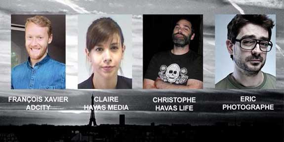 کشته شدگان شرکت تبلیغاتی هوس در حوادث تروریسی پاریس
