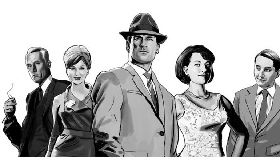 نقد و بررسی سریال مد من | علیجاه شهربانویی مد من جمع بندی نقد و بررسی فصل اول سریال مد من قسمت دوم Mad Men Cast1