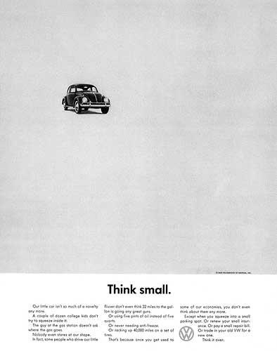 این هم تبلیغ فوق العاده فولکس واگن در سالهای دور کاری از شرکت تبلیغاتی DDB