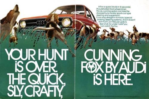 از دیگر کارهای اثر گذار هلموت کرون ساخت تبلیغات با صفحه بندی کاملا بدیع در زمان خود برای برند آئودی بود.